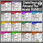 Christmas Around the World Books Set 2: Bundle